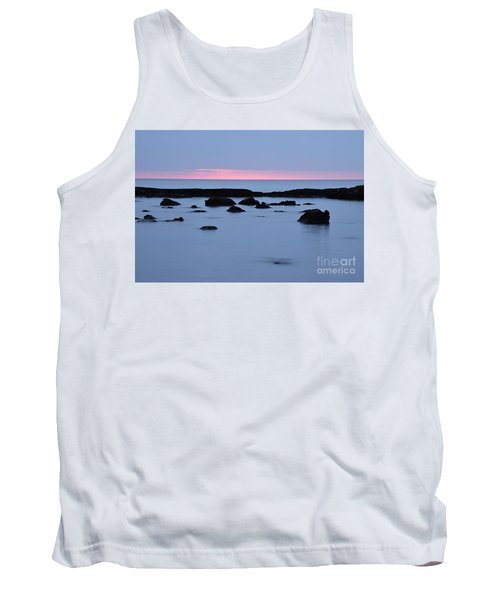 Tank Top featuring the photograph Subtle Sunrise by Larry Ricker