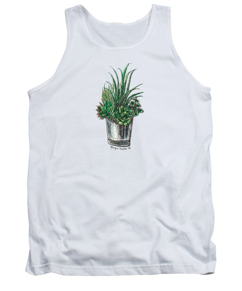 Succulents Tank Top