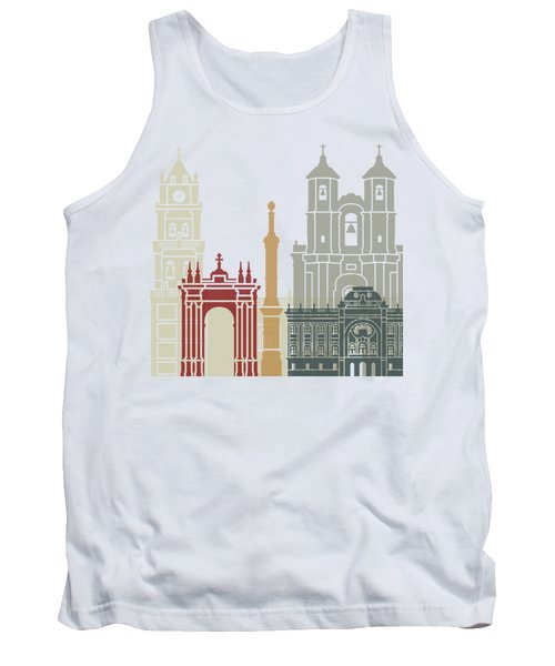Sucre Skyline Poster Tank Top by Pablo Romero