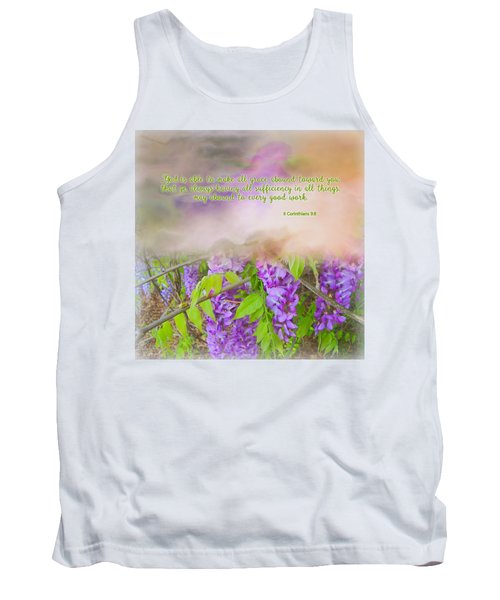 Sufficiency Tank Top by Larry Bishop