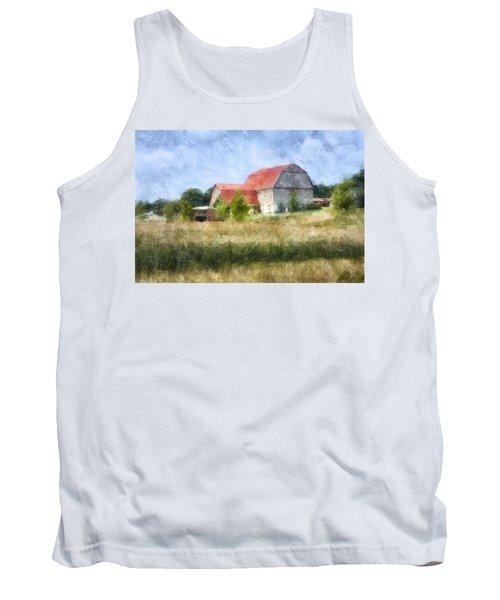 Summer Barn Tank Top by Francesa Miller