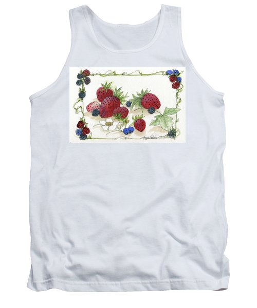 Summer Berries Tank Top