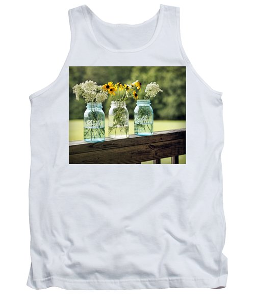 Summer Blooms Tank Top