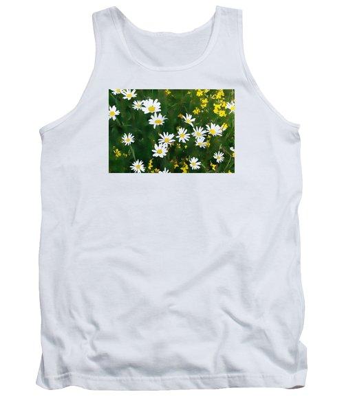 Summer Daisies Tank Top