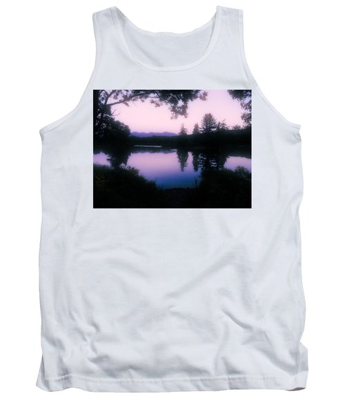 Tank Top featuring the photograph Summer Evening In New Hampshire by Robin Regan
