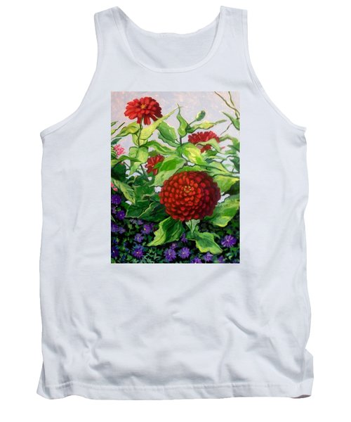 Summer Flowers 3 Tank Top