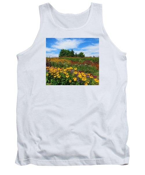 Summer Flowers In Pa Tank Top