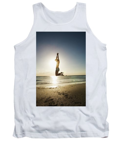 Summer Girl Summer Jump  Tank Top