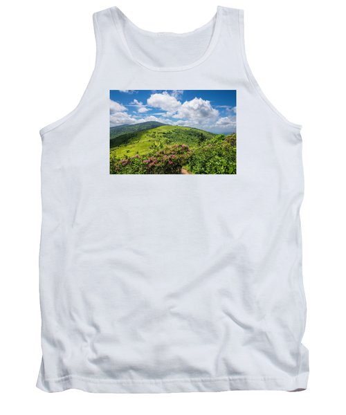 Summer Roan Mountain Bloom Tank Top by Serge Skiba