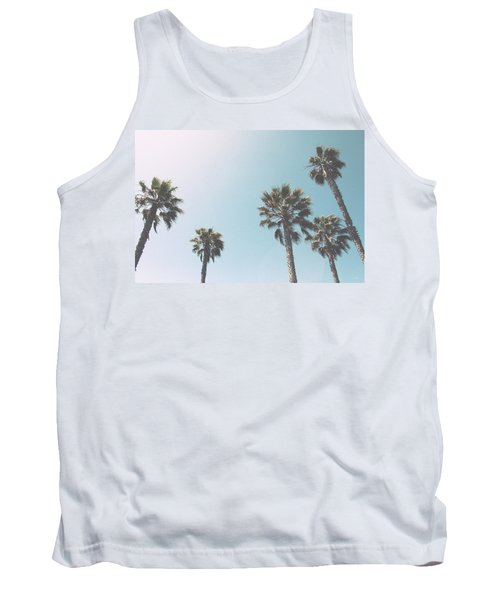 Summer Sky- By Linda Woods Tank Top