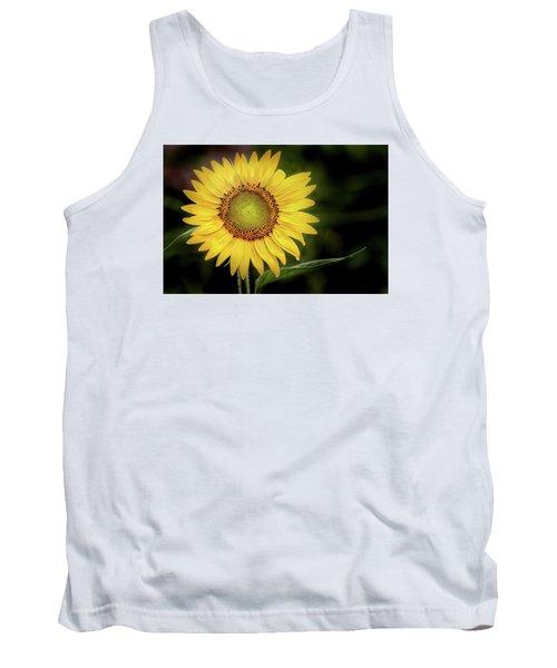 Summer Sunflower Tank Top