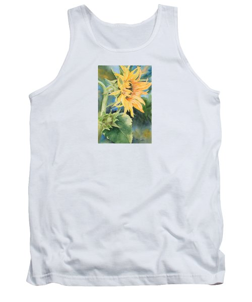 Summer Sunflower Tank Top