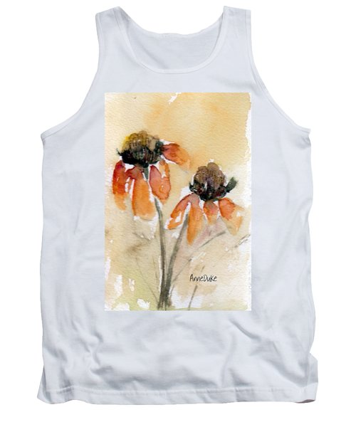 Summer Sunflowers Tank Top
