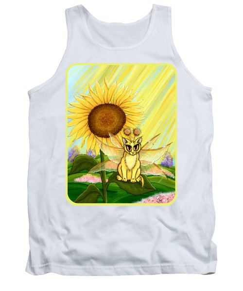 Summer Sunshine Fairy Cat Tank Top