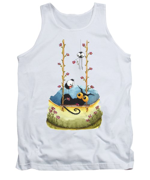 Summer Swing Tank Top by Lucia Stewart