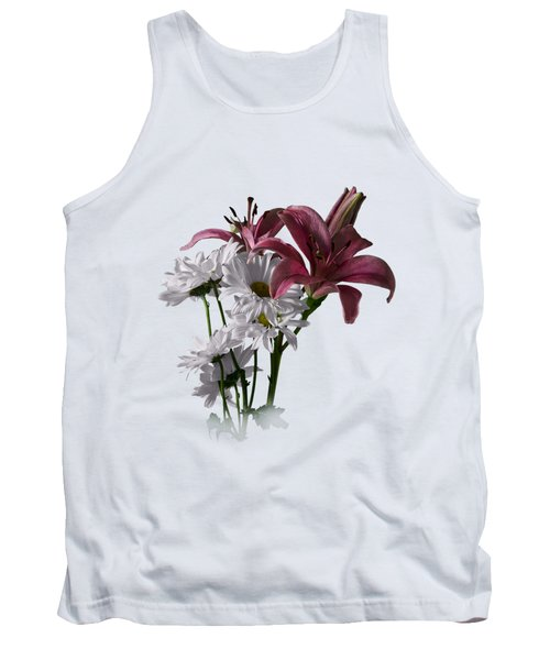 Summer Wild Flowers Clothing Tank Top