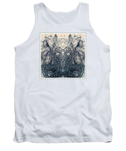 Summertime Is Over Continuum Two Tank Top by Jack Dillhunt
