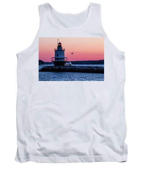 Sun Rise At Spring Point Tank Top