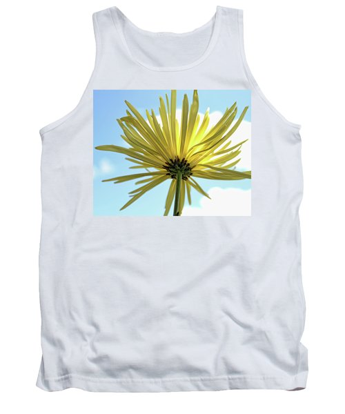 Tank Top featuring the photograph Sunburst by Judy Vincent