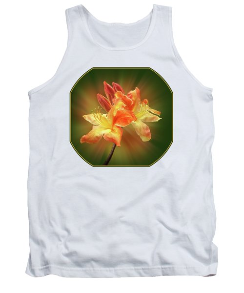Sunburst Orange Azalea Tank Top