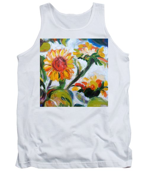 Sunflowers 5 Tank Top