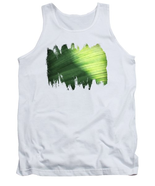 Sunlit Palm Tank Top