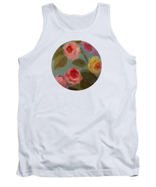 Sunlit Roses Tank Top