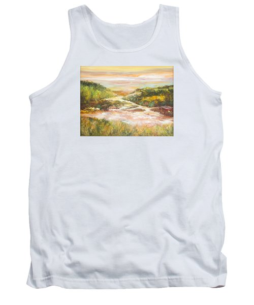 Sunlit Stream Tank Top