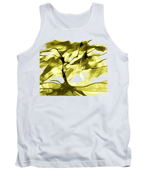 Tank Top featuring the digital art Sunny Day by Asok Mukhopadhyay