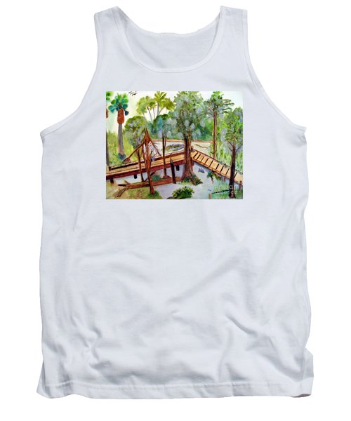 Sunny Day In Central Florida Tank Top by Sandy McIntire
