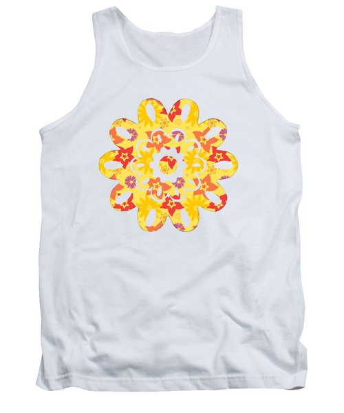 Sunny Flowers Tank Top