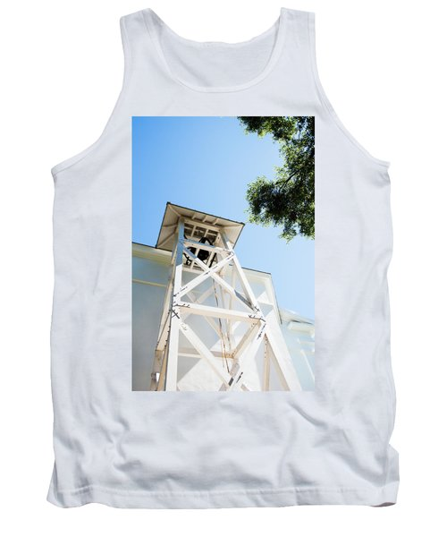 Tank Top featuring the photograph Sunny Game Day In Athens by Parker Cunningham