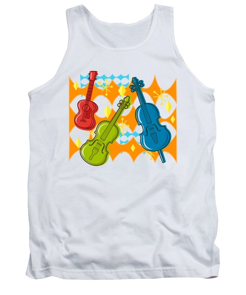 Sunny Grappelli String Jazz Trio Composition Tank Top