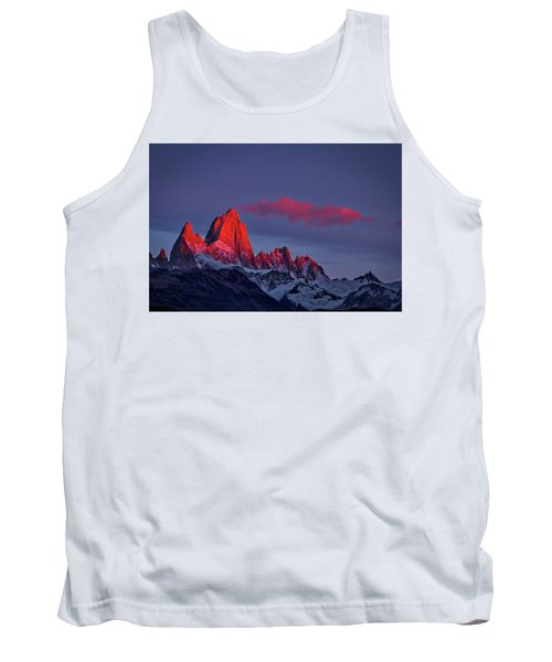 Sunrise At Fitz Roy #3 - Patagonia Tank Top