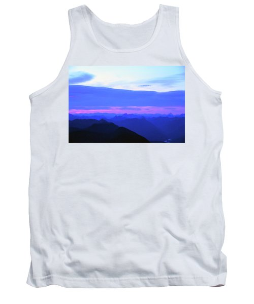 Sunrise From Pilchuck Summit Tank Top