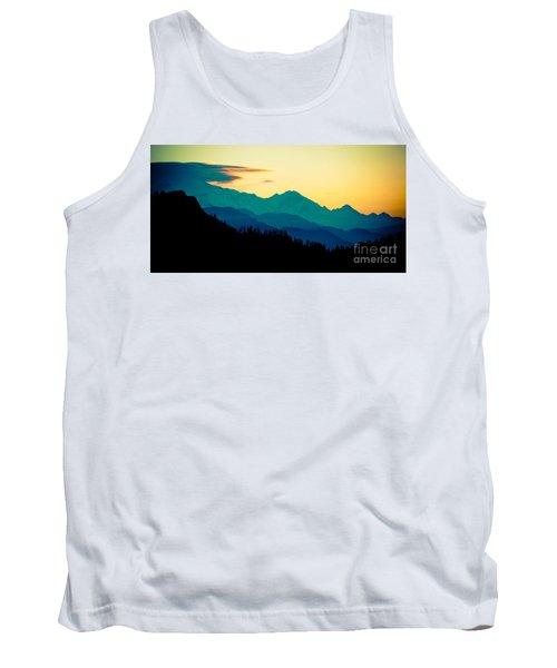 Sunrise In Himalayas Annapurna Yatra Himalayas Mountain Nepal Poon Hill Tank Top