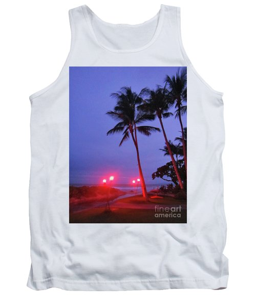 Sunrise Ocean Pathway Tank Top