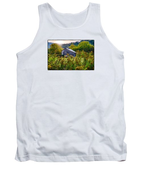 Tank Top featuring the photograph Sunrise On The Farm by R Thomas Berner