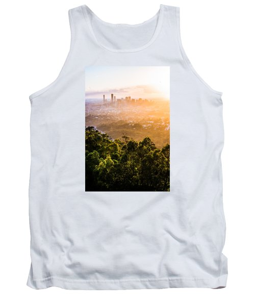 Sunrise Over Brisbane Tank Top