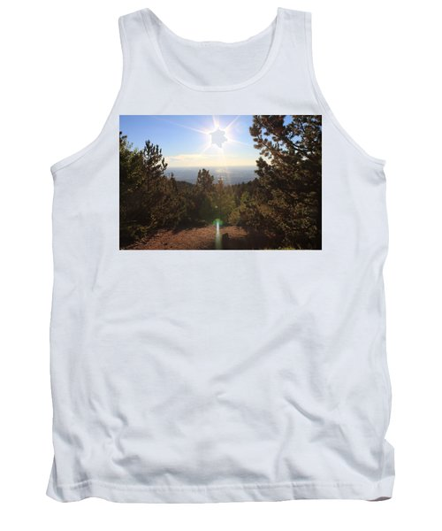 Tank Top featuring the photograph Sunrise Over Colorado Springs by Christin Brodie