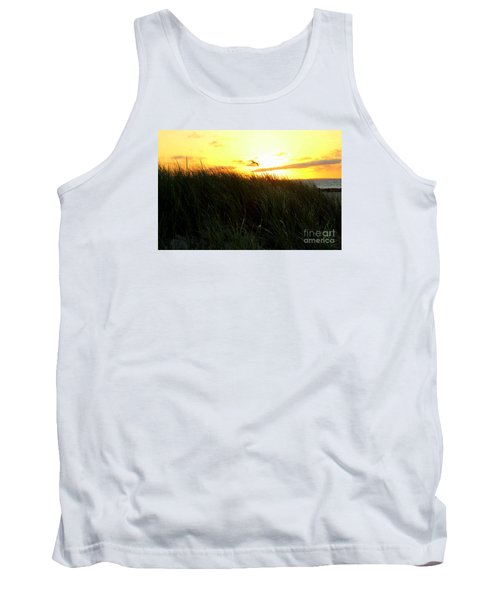 Sunrise  Over Sand Dunes Tank Top