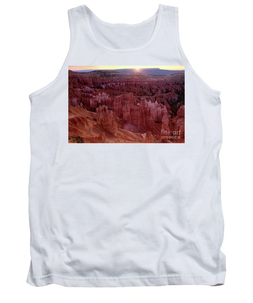 Sunrise Over The Hoodoos Bryce Canyon National Park Tank Top