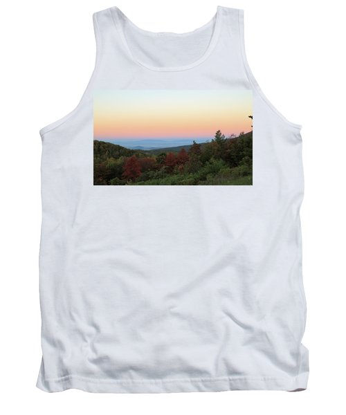 Sunrise Over The Shenandoah Valley Tank Top