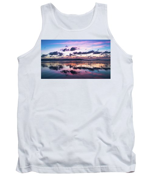 Sunrise Pink Wisps Delray Beach Florida Tank Top