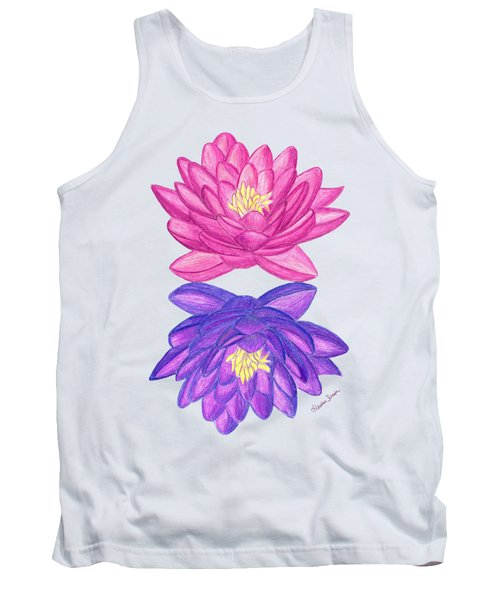 Sunrise Sunset Lotus Tank Top