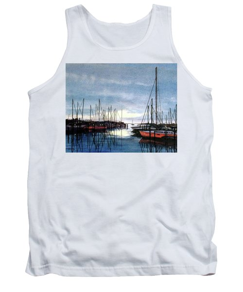 Sunset At Apollo Beach Tank Top by Janet King