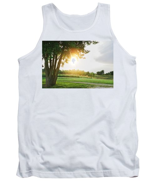 Sunset At Pearman Forest Tank Top