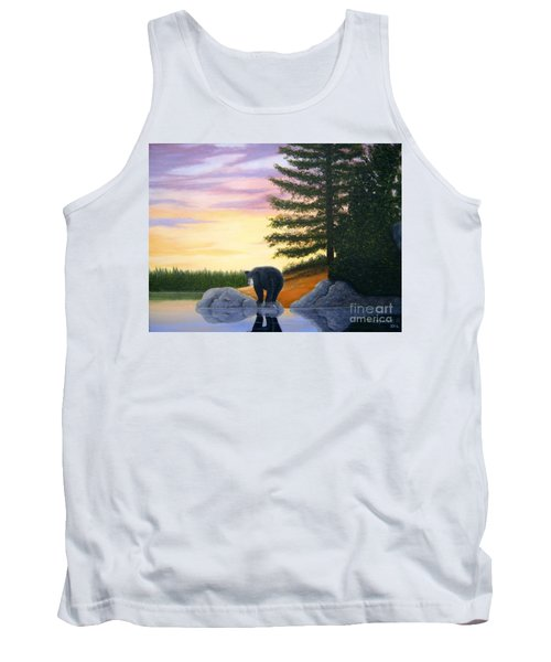 Sunset Bear Tank Top