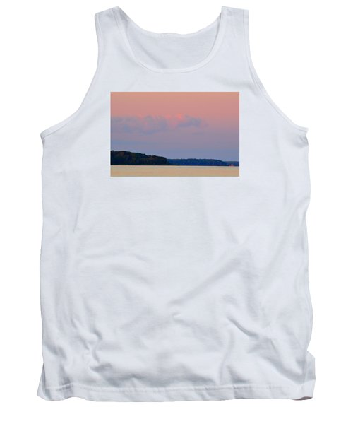 Tank Top featuring the photograph Sunset Clouds In The East 2  by Lyle Crump