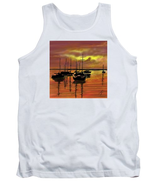 Sunset Tank Top by Darren Cannell